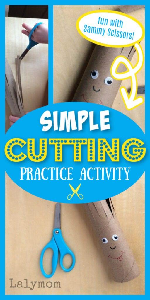 Simple Cutting Practice Activity