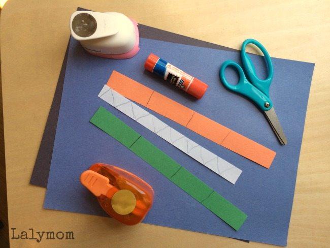 Toddler Cut, Punch Paste Crafts for Fine Motor Skills