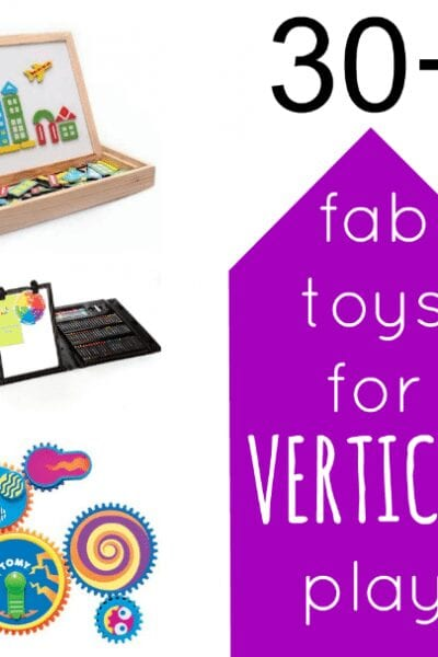 30+ Fab and Fun Toys and Accessories for Encouraging Vertical Surface Play
