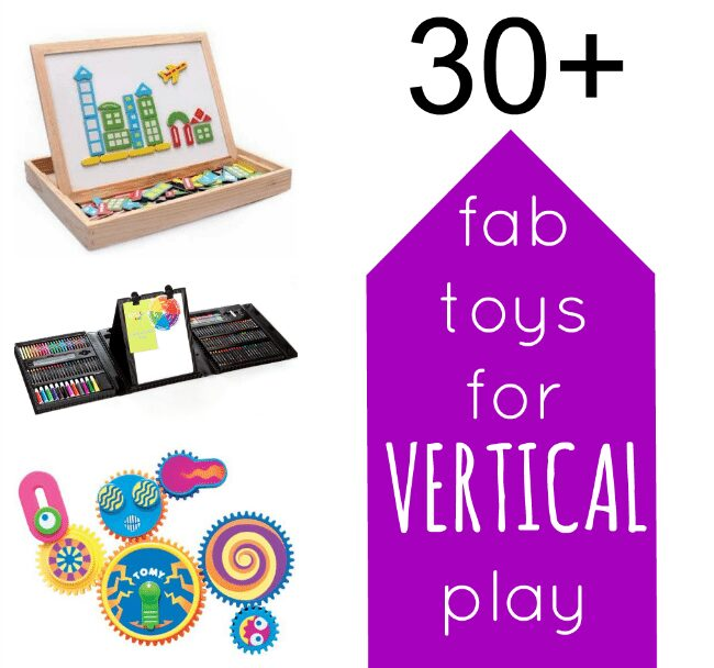 30+ Fab Toys and Accessories for Vertical Surface Play