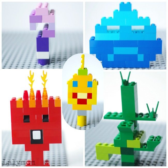 LEGO Emotions Inspired by Inside Out
