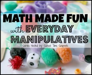 Fun Math Activities for Kids Using DIY Math Manipulatives with Everyday Materials