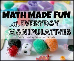 Fun Math Activities for Kids Using DIY Math Manipulatives with Everyday Materials