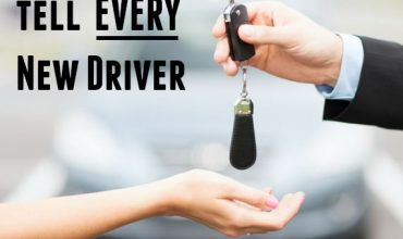 5 Words to Tell to EVERY New Driver - Teen drivers and experienced drivers alike need to hear this!