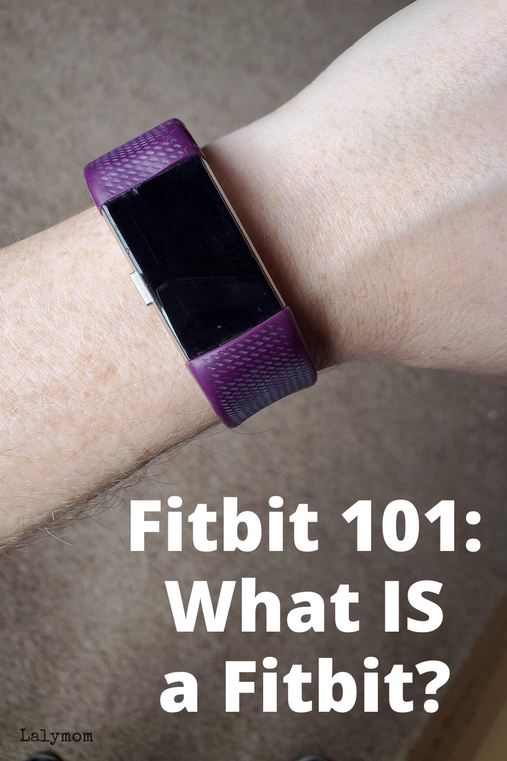 All About Fitbits, like this purple banded fitbit charge. What is a fitbit?