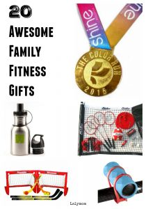 20 Awesome Family Fitness Gifts - Get your kids active and moving!