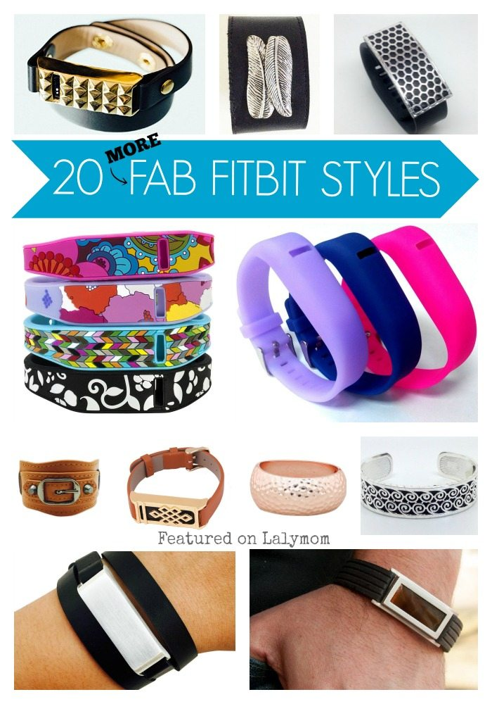 20 MORE Fabulous Fitbit Accessories - Whether you need a basic Fitbit Replacement Band or want to dress up your fitness tracker, you will love these styles.