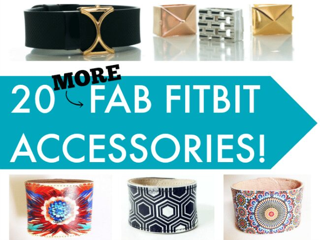 20 More Fab Fitbit Accessories - Fitbit replacement bands and other stylish ways to wear your fitness tracker on Everything FItbit