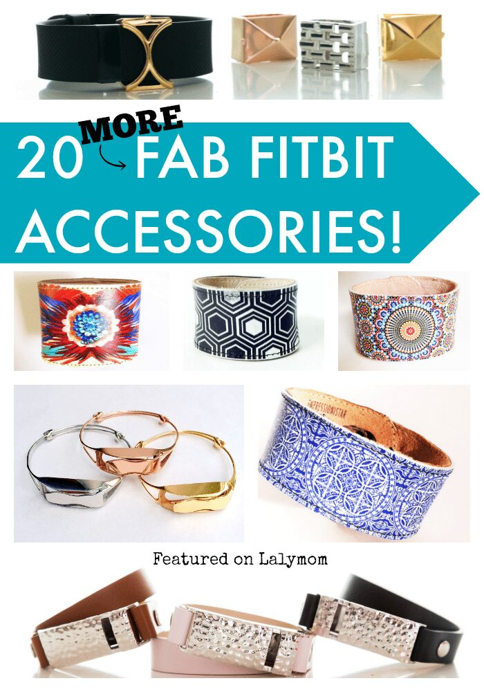 20 More Fab Fitbit Accessories - Whether you need a fitbit replacement band or want to dress up your fitness tracker, check out these perfect styles today!