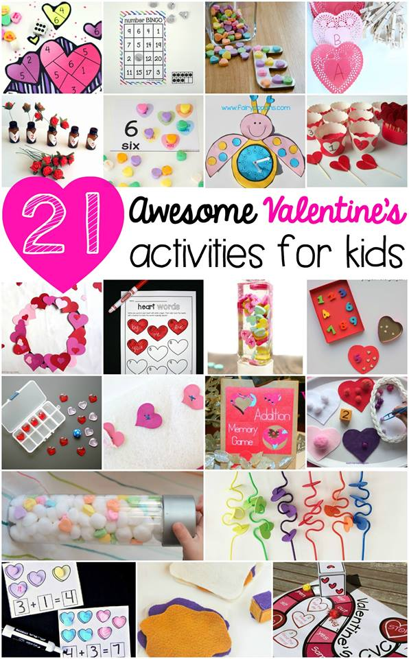 21 Awesome Valentine's Day Activities for Kids