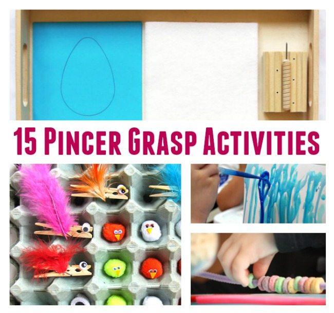 15 Fine Motor Activities to Improve Pincer Grasp