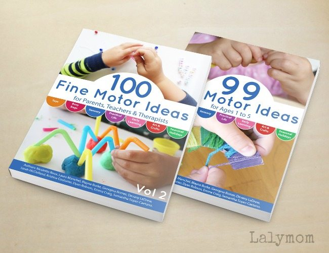 99 and 100 Fine Motor Activities Books