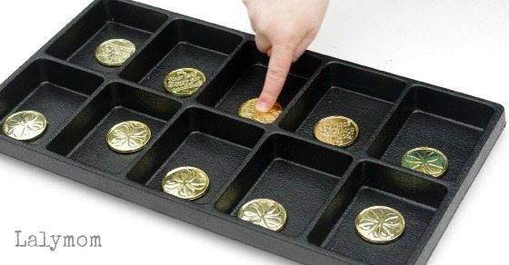 Fun Coin Flip Ten Frame Activity for Kids - looks like an easy math center to set up!
