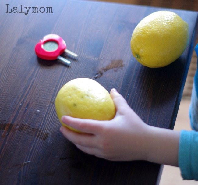 StemBox Science - Lemon Battery Experiment - Sponsored by Green Works, good thing, too because science can get messy!