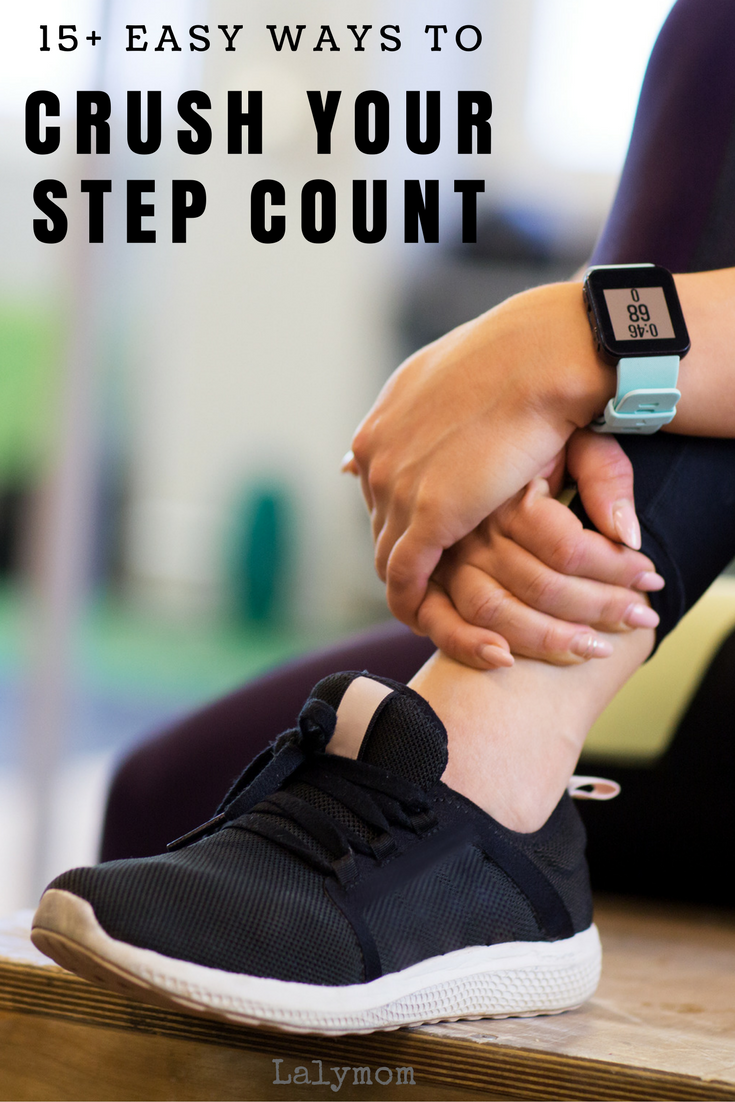 15+ Easy Ways to CRUSH Your Step Count - Great ways to increase my fitbit steps!
