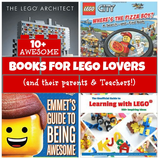 10+ AWESOME LEGO Books for LEGO Fanatics (And Their Parents & Educators)