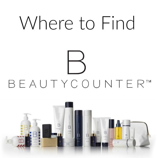 where to find beautycounter cosmetics and skincare without harsh chemicals