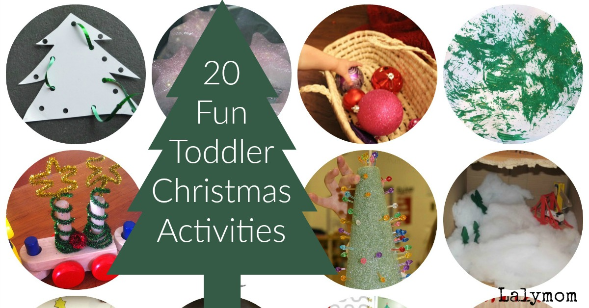 Christmas Fun.20 Fun Toddler Christmas Activities Your Kids Will Love