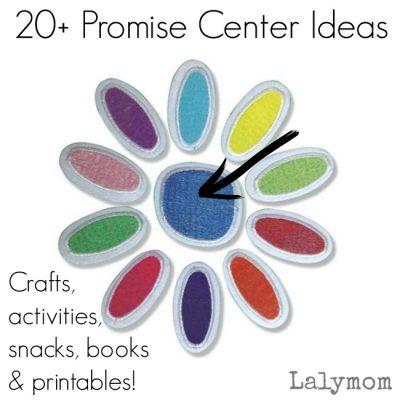 20 Daisy Girl Scout Promise Center ideas - Snacks, Crafts, Activities, Printables and Books!