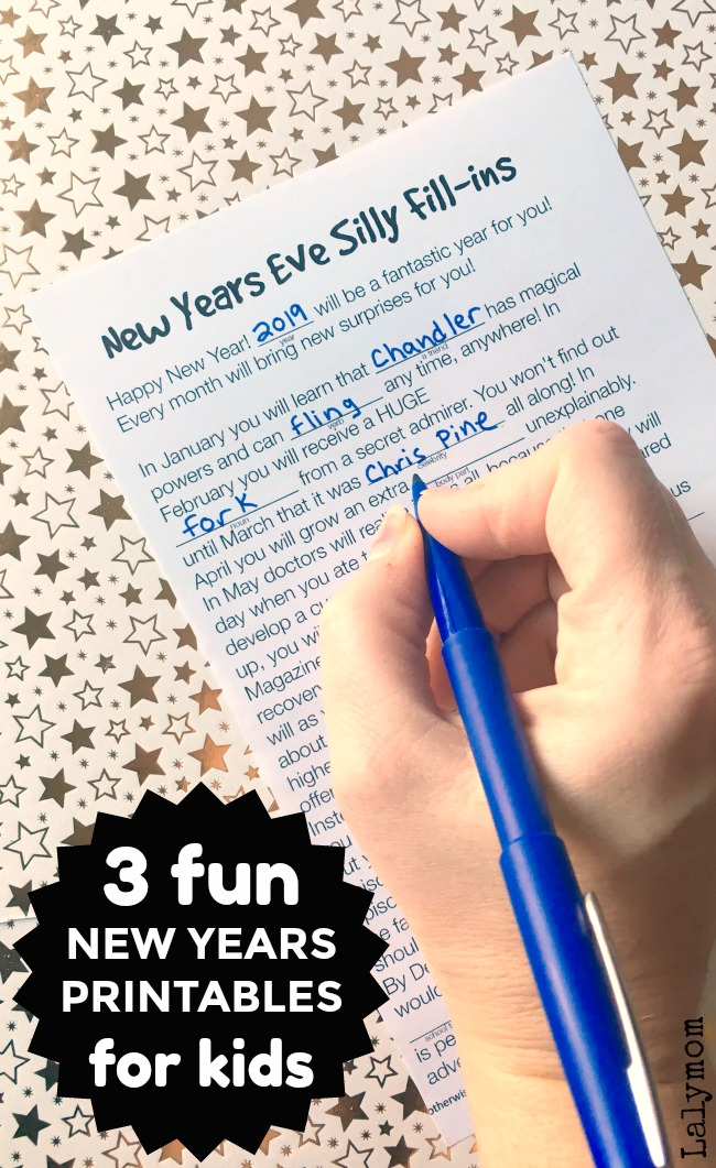 3 super fun new years eve printable activities for kids wacky mad libs roll