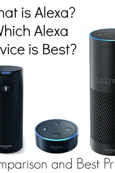 Compare Alexa Devices: Amazon Echo Vs. Dot & Tap