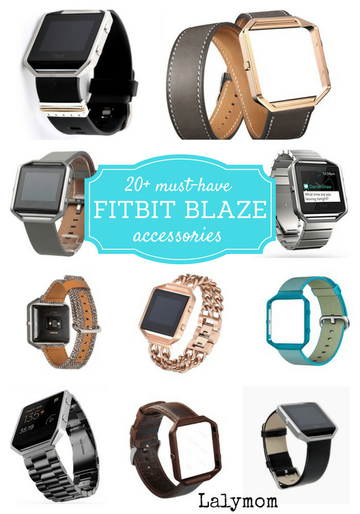 20+ Must Have Fitbit Blaze Accessories for her and him! Replacement Fitbit Blaze Bands, Charging Docs, Fitstar and More to help you get the most from your Blaze. Great Gift Ideas!