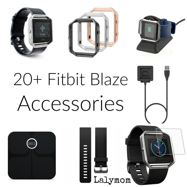 20+ Fitbit Blaze Accessories - Replacements, cords and fashionable bands.
