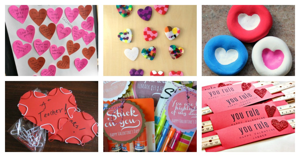 Easy teacher valentines