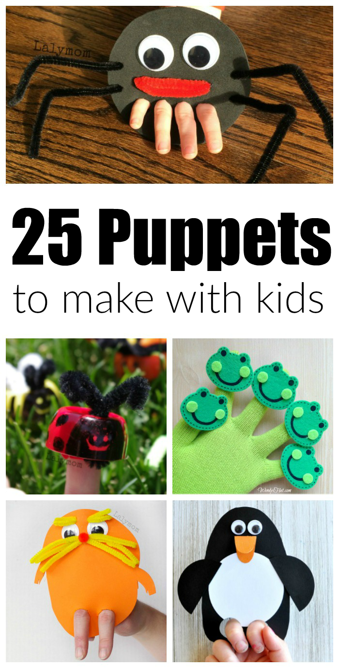 More than 20 adorable DIY hand puppets to make with the kids