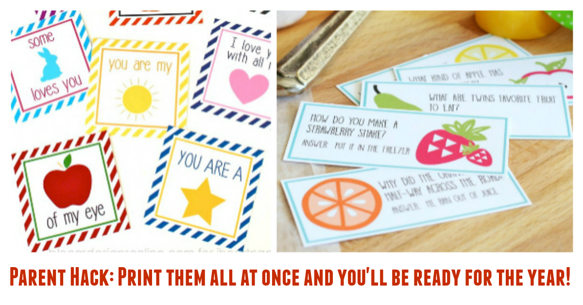 20+ Adorable Lunchbox Notes for Girls
