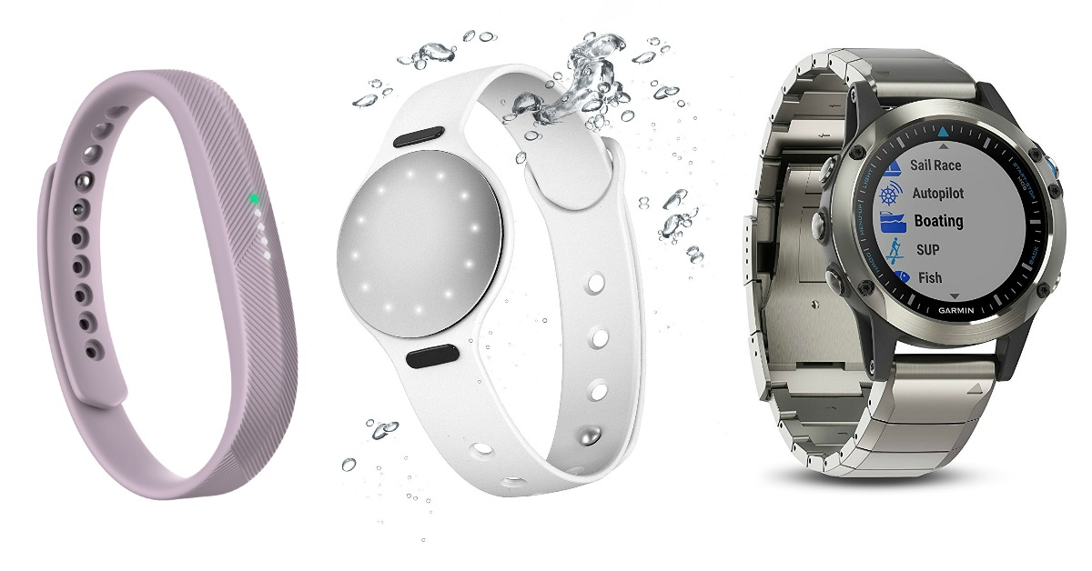 2018 List: BEST Waterproof Fitbits, Fitness Trackers and Swim Tackers