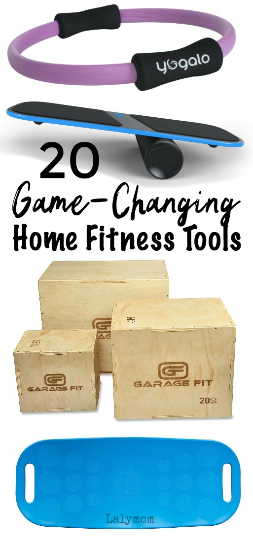 20 Game Changing Home Fitness Tools to Help You Lose Weight At Home