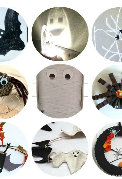 20+ Easy DIY Halloween Decorations - Make these quick homemade halloween decorations with materials you probably already have!