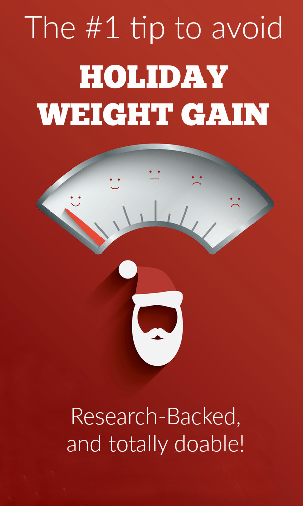 The #1 Tip to Avoid Holiday Weight Gain - If you're worried about holiday weight gain, don't wait to read this!