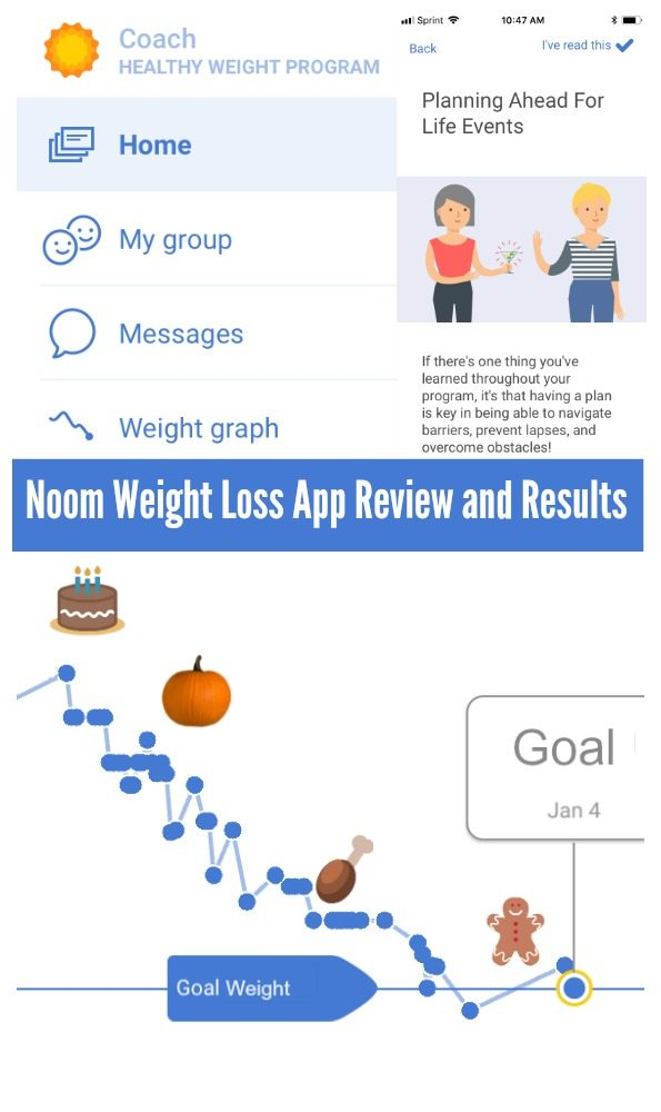 Noom Weight Loss App Program Review and Results - No more diets Sign me up!