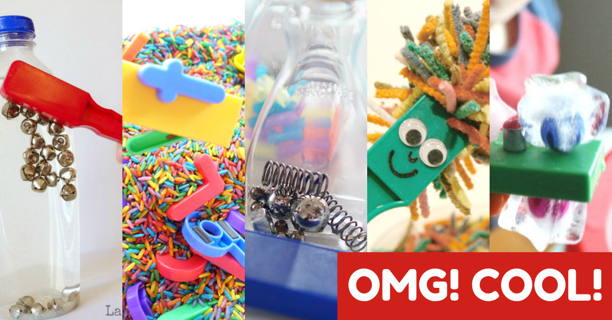 Magnets for Kids – 20 of the COOLEST Magnet Wand Activities