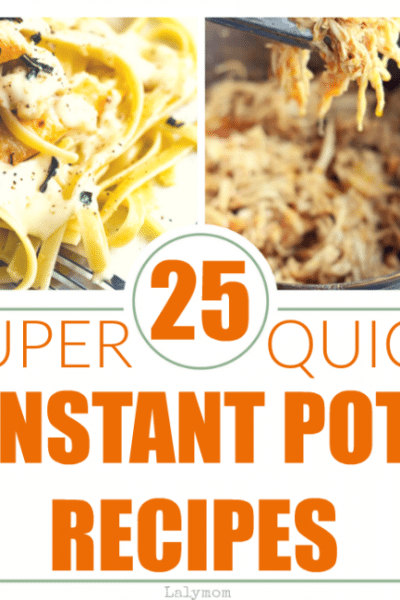 25 Insanely Quick Instant Pot Recipes