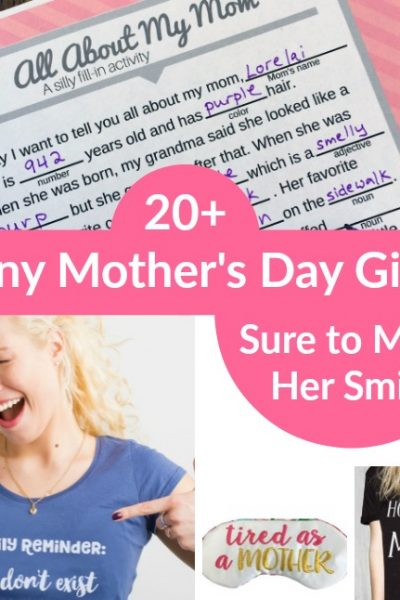 Funny Mother's Day Gift Ideas
