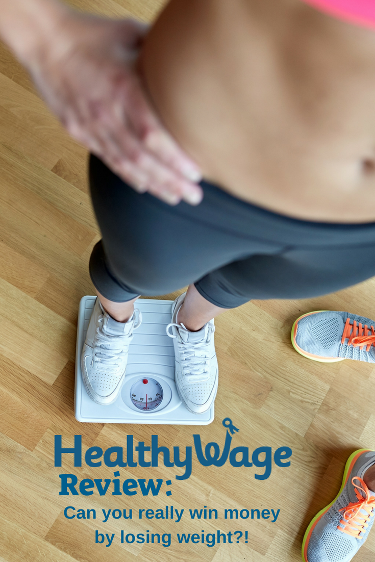 Healthy Wage Review: Can you really win money for losing weight - find out about the cash prizes for these weight loss challenges! #weightloss #challenge #fitness #healthywage