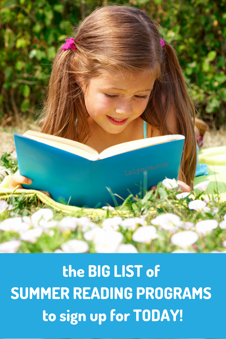 20 Summer Reading Programs to Sign Up For Today #summer #reading #kidlit #freebies #prizes