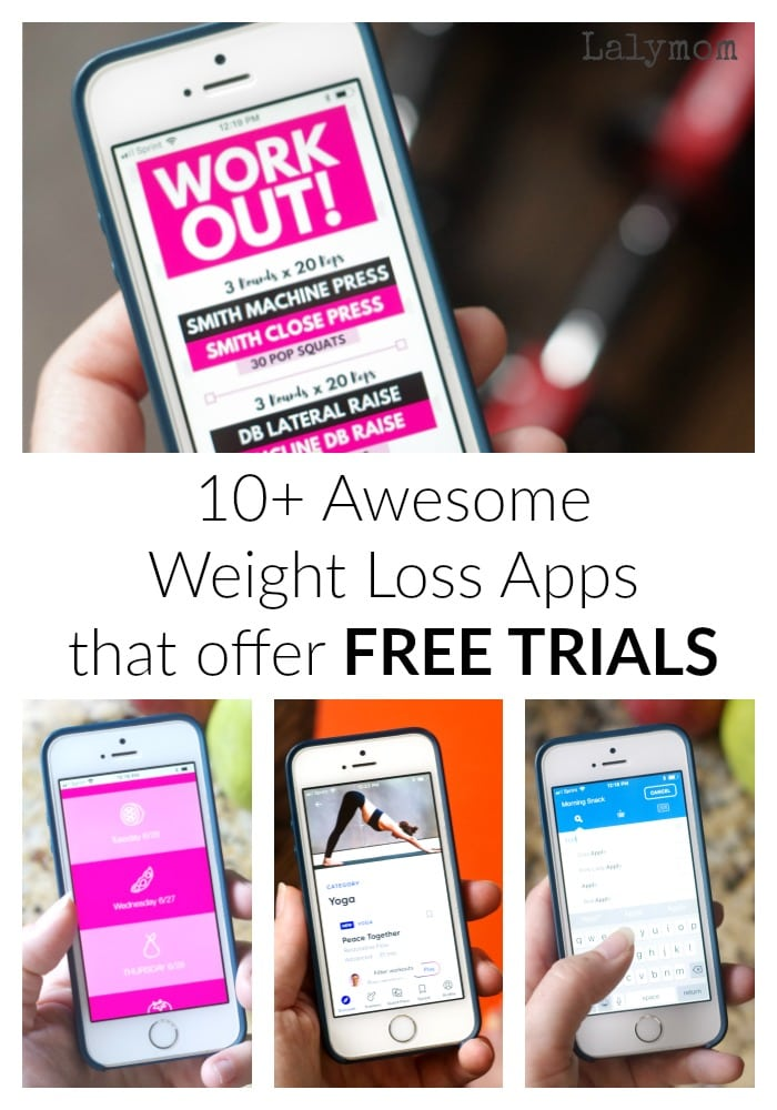 10+ Awesome Weight Loss Apps That you can try with free trials #weightloss #fitness #diet #exercise #app
