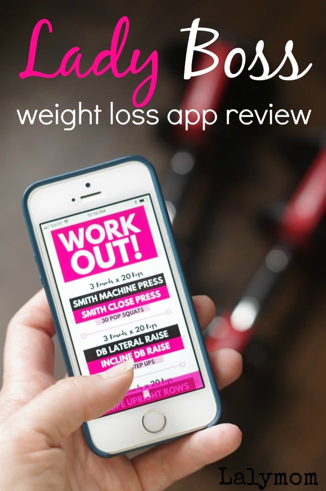 Ladyboss Review - Is Kaelin Tuell's Weight loss app worth it #weightloss #app #diet #exercise #workout