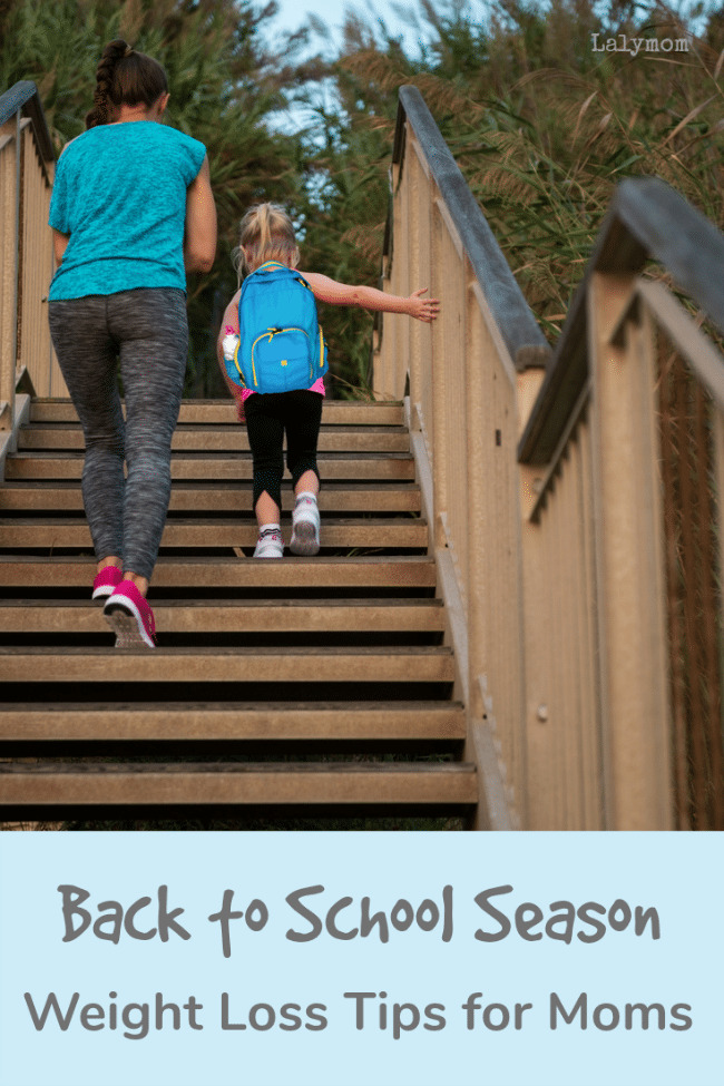 Weight Loss Tips for Moms during the Back to School Season