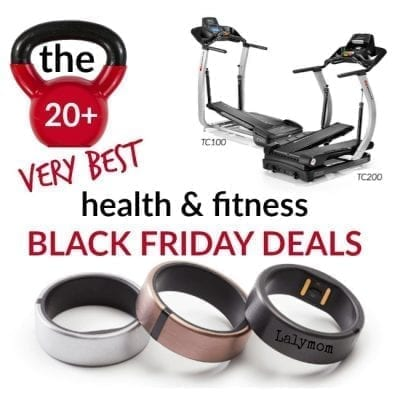 Black Friday and Cyber Monday Deals on fitness, diet and exercise gear