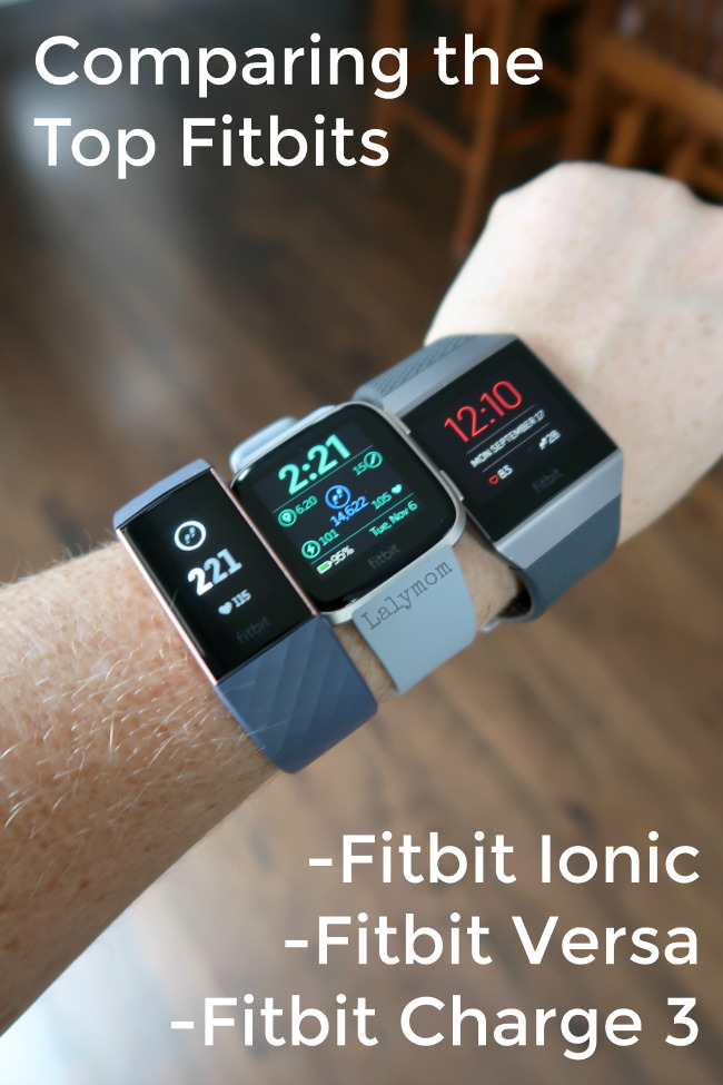 Fitbit Versa VS Fitbit Ionic VS Fitbit Charge 3 - Which is the best Fitness Tracker