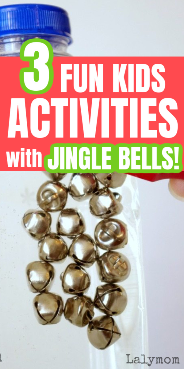 3 Jingle Bell Activities for kids - perfect christmas science activity, or just for fun. Would make a fun classroom center too! #christmas #jinglebells #kids #magnets