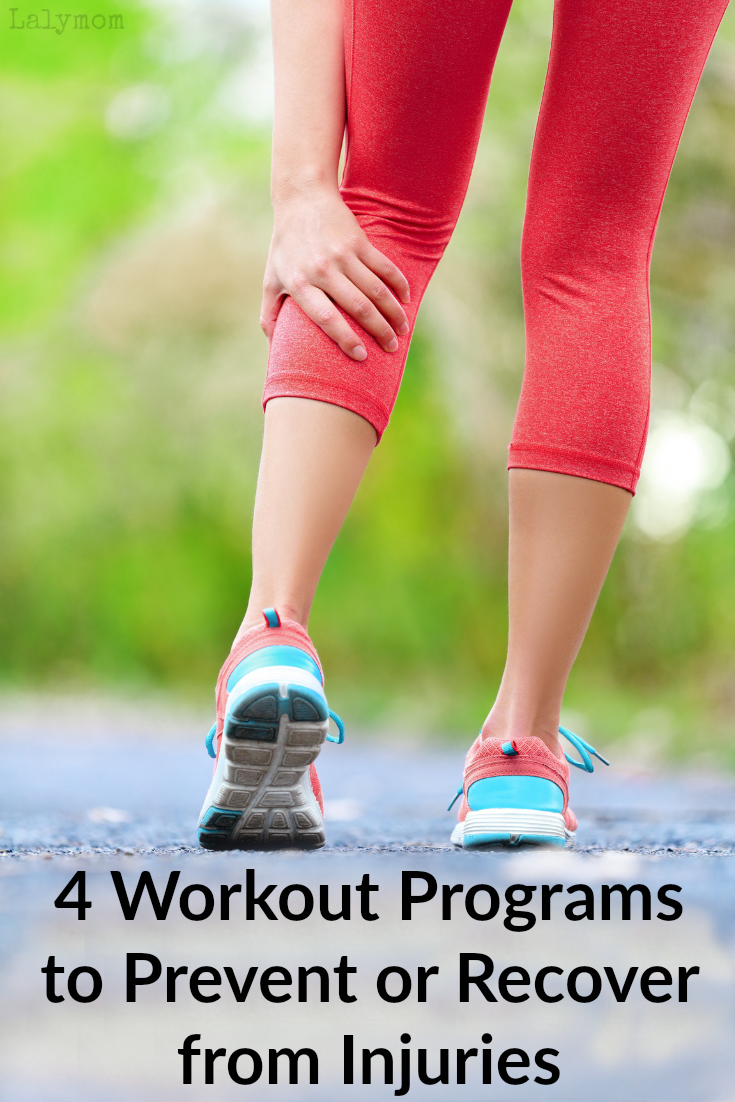 4 Perfect Workout Programs for Injury Prevention and Recovery #exercise #workout #fitness #physicaltherapy #injury