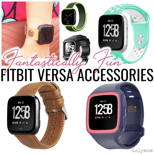 Must-Have Fitbit Versa Accessories on Lalymom
