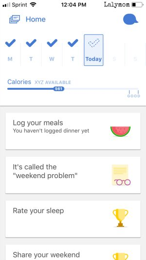 Noom Coach App is Perfect for your New Years Resolutions #loseweight