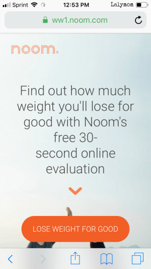 New Years Resolutions with Noom Weight Loss Coach Quiz
